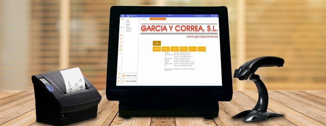 Módulo García y Correa en HolaTPV